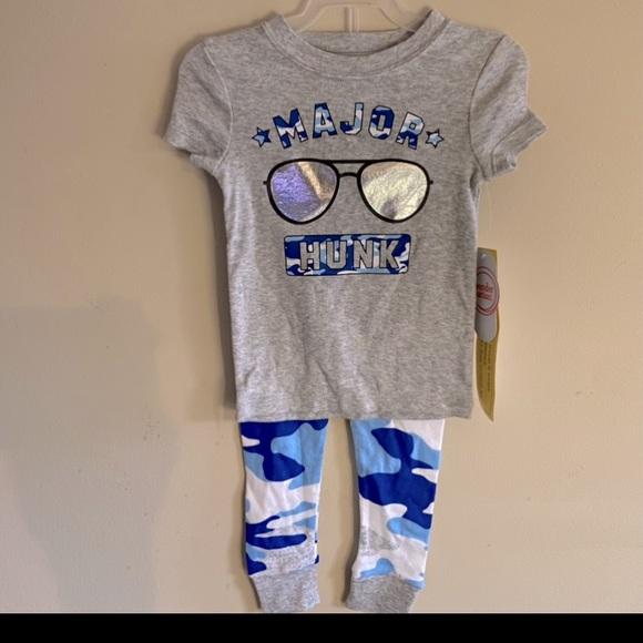 Wonder Nation Boys' Graphic Pajama 2 Piece Set